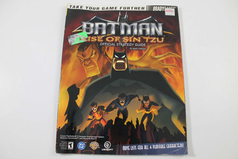Batman: Rise of Sin Tzu Official Strategy Guide - Brady Games