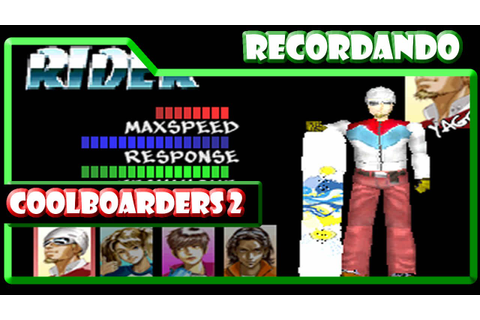 Cool Boarders 2 - PS1 | Games Land - YouTube