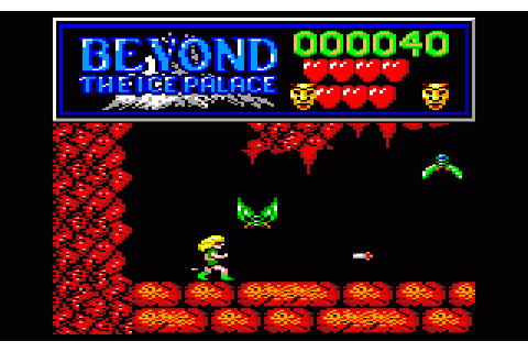 Beyond the Ice Palace (1988) by Elite Amstrad CPC game