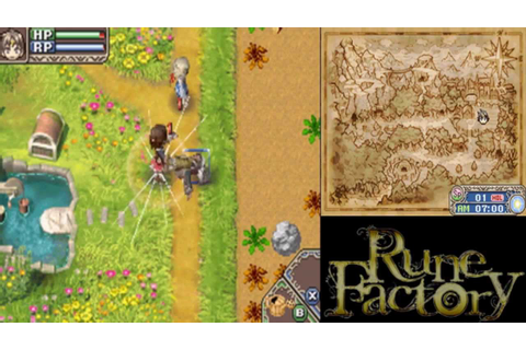 Let's Play Rune Factory: A Fantasy Harvest Moon 01 ...