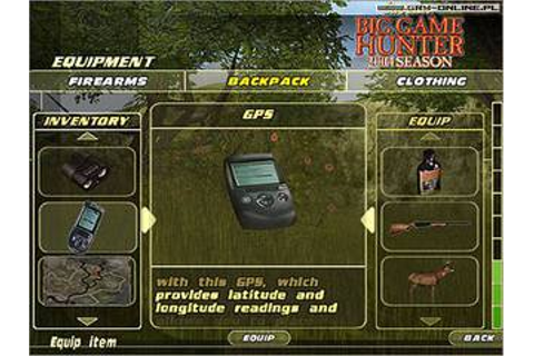 Gra Cabela's Big Game Hunter 2004 Season - Encyklopedia ...