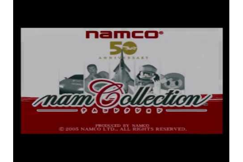 [PS2] NAMCOllection intro - YouTube