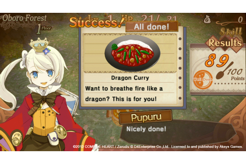 Sorcery Saga: Curse of the Great Curry God | RPG Site