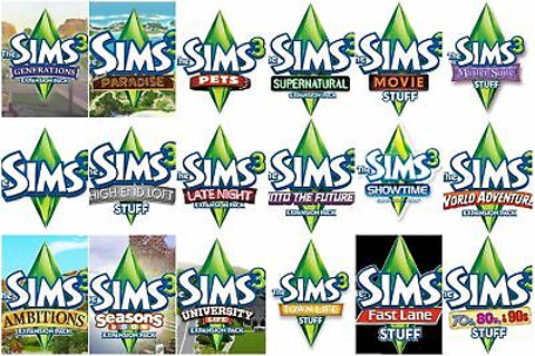 The Sims 3 Expansions Stuff Packs Origin Game Key (PC ...