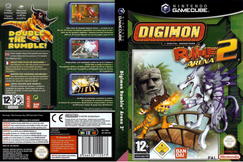 GD6P70 - Digimon Rumble Arena 2
