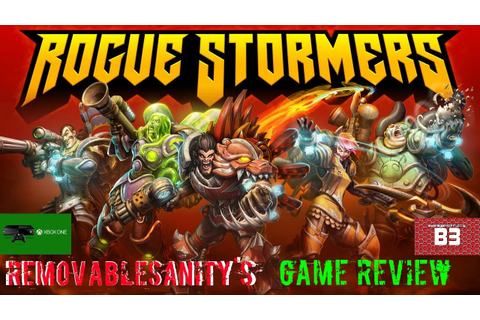 Rogue Stormers Review for the Xbox One - YouTube