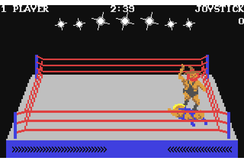 Rock'n Wrestle (1985) by Beam Software C64 game