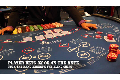 How to Play Ultimate Texas Hold Em' - YouTube