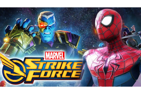 Marvel Strike Force Gameplay #1 - Beginning - YouTube