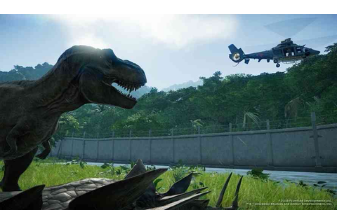 Jurassic World Evolution Receives Gorgeous New Gameplay ...