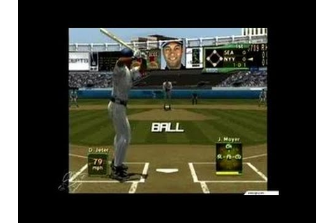 World Series Baseball 2K2 Dreamcast Gameplay_2001_08_03_5 ...