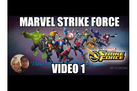 Marvel Strike Force Mobile Game | Video 1 | Our First ...