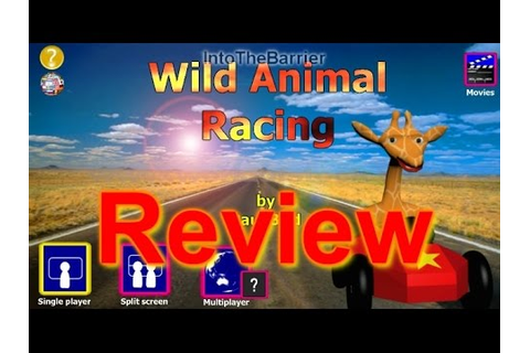 Wild Animal Racing - Review - YouTube