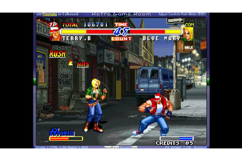 Real Bout Fatal Fury 2 - The Newcomers - (MAME) - Vizzed ...