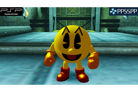 Pac-Man World 3 - PSP Gameplay 1080p (PPSSPP) - YouTube