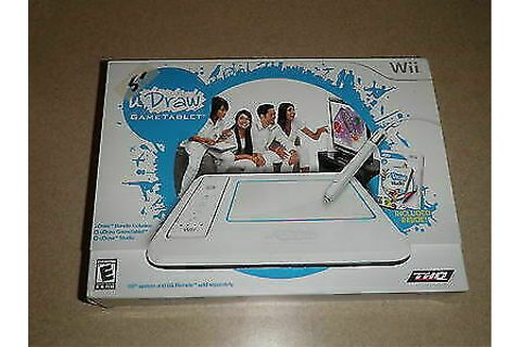 THQ uDraw Studio Game and Tablet Nintendo Wii 30416 for ...