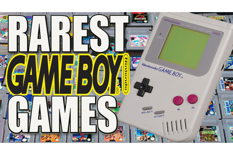10 More Rare GameBoy Games | Rarest Gameboy & GameBoy ...