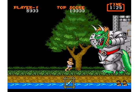 My all time favourite video games: Ghouls'n Ghosts - Sega ...