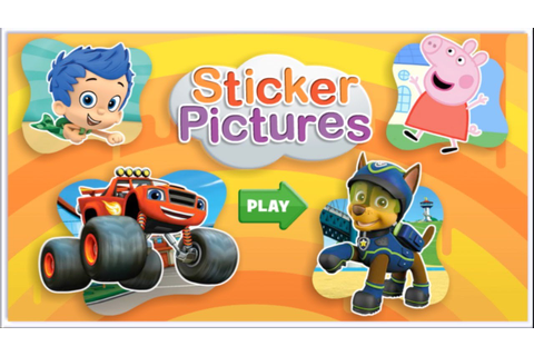 Nick Jr. Sticker Pictures - Bubble Guppies, Team Umizoomi ...
