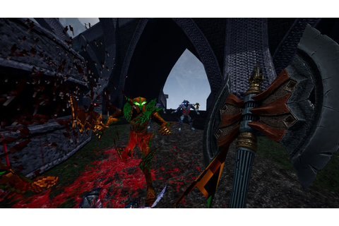 The Heretic-like fantasy FPS Amid Evil will arrive on ...