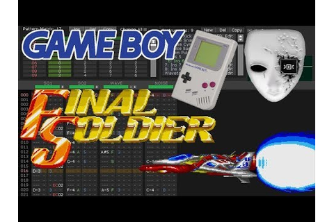 【PCE】Final Soldier - Sole Warrior - Game Boy Cover ...