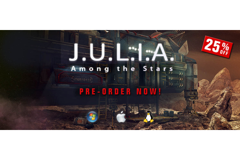 J.U.L.I.A.: Among the Stars – pre-order | CBE software