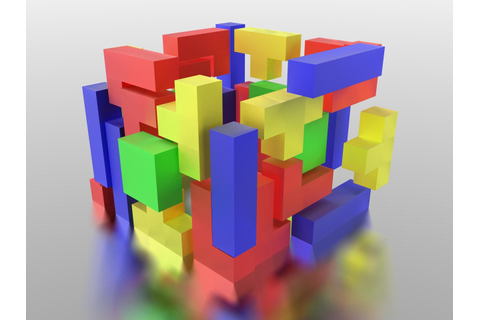 3D Tetris_Colorful by BCBomb47 on DeviantArt
