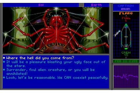 Star Control 2 strategy for DOS (1992) - Abandonware DOS
