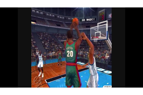 NBA 2K1 - YouTube