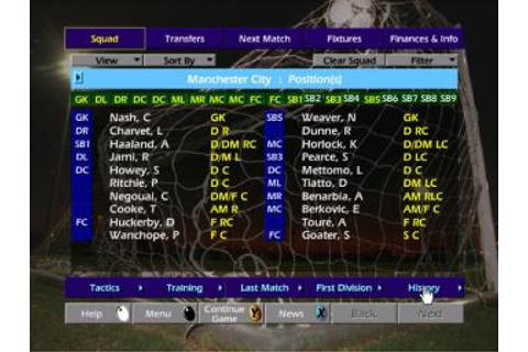 Screens: Championship Manager Season 01/02 - Xbox (3 of 10)