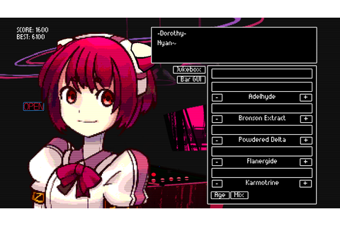 VA-11 HALL-A: Cyberpunk Bartender Action Windows, Mac ...