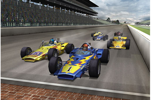 Sky Photography used in Indianapolis 500 Legends Nintendo ...