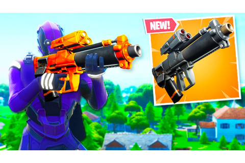 The New GRENADE LAUNCHER in Fortnite.. (Gameplay) - YouTube