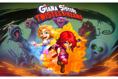 Games Fiends - Giana Sisters: Twisted Dreams (PS3) Review