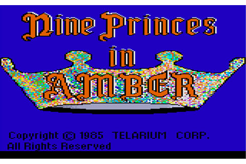 Download Nine Princes in Amber - My Abandonware