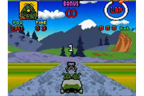 Let's Play Wacky Races Game Boy Color - YouTube