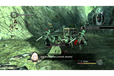 Best Game Ever? Drakengard 3 Gameplay - YouTube