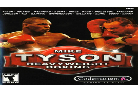 Mike Tyson Heavyweight Boxing - Game Records - YouTube