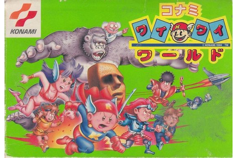Konami Wai Wai World (1988) by Konami NES game