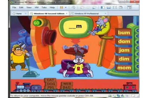 Reader Rabbit's Reading 1: Sorter Game, Level 2 - YouTube