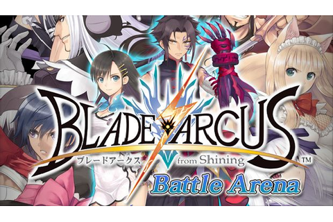 Blade Arcus from Shining: Battle Arena Free Download ...