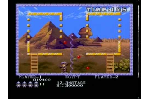 PANG (AMIGA - FULL GAME) - YouTube