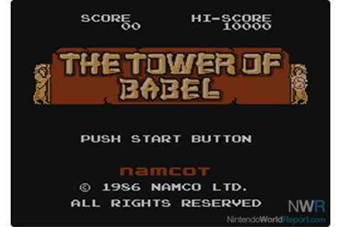 Babel no Tō - Game - Nintendo World Report