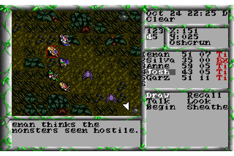 The Magic Candle 3 rpg for DOS (1992) - Abandonware DOS