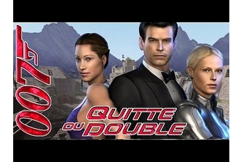 007 Quitte ou Double (FilmGame Complet Fr) - YouTube