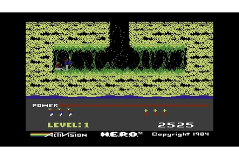 C64Zilla Commodore 64 H.E.R.O Game Review Hero C64 - YouTube