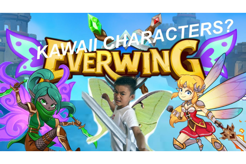 KAWAII CHARACTERS IN EVERWING | FACEBOOK MESSENGER GAME ...