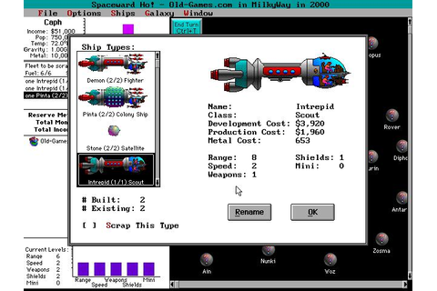 Spaceward Ho! Download (1992 Strategy Game)