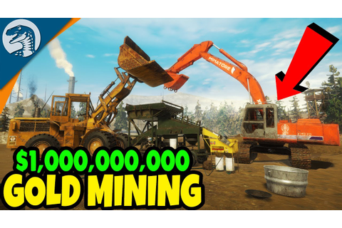BUILDING $1,000,000,000 GOLD MINE & HEAVY EQUIPMENT | Gold ...