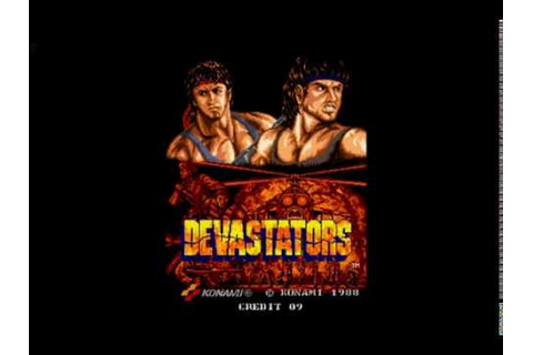 Devastators (1988) Arcade Konami - YouTube